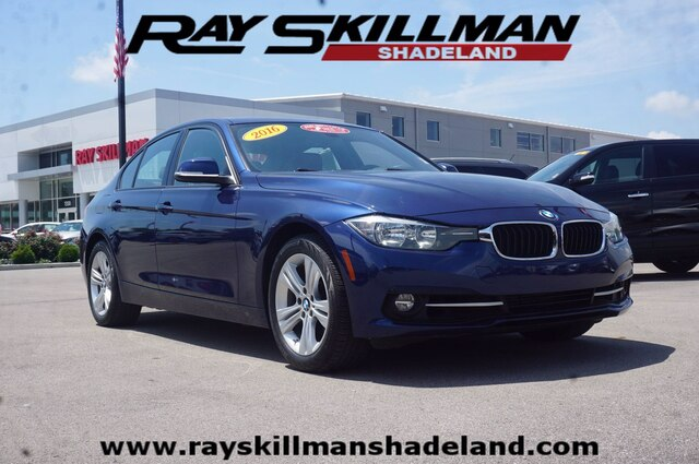 Pre-Owned 2016 BMW 328i w/South Africa/SULEV
